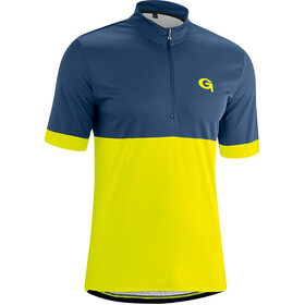 Gonso Oscar Half-Zip SS Bike Jersey Men insignia blue